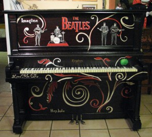 beatles piano 10-5 b