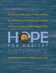 Hope for Habitat Katrina X sponsor forms.indd