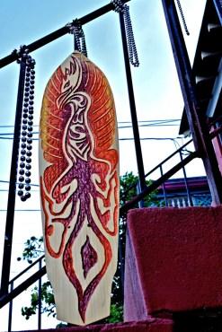 Devin Boutwell Risen skateboard