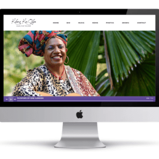 Klare Kuolga Music Website