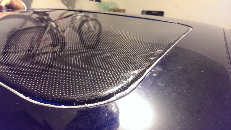 Pikes Peak Coffee >> Carbon Fiber Sunroof Delete Panel Installed on E46 M3