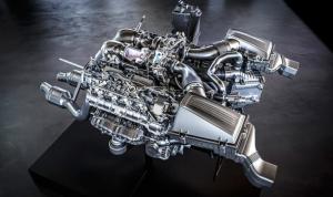 AMG GT engine cutaway