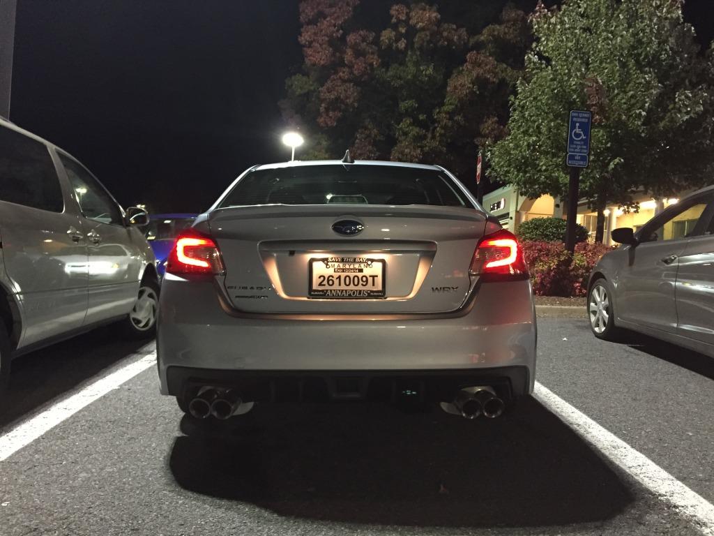 New 2015 Subaru WRX Limited Rear