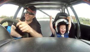 RallyRides-Driving-Experiences-funny-little-boy-in-a-Subaru-Rally-car