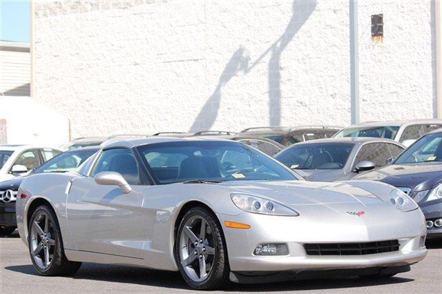 Silver C6 Corvette