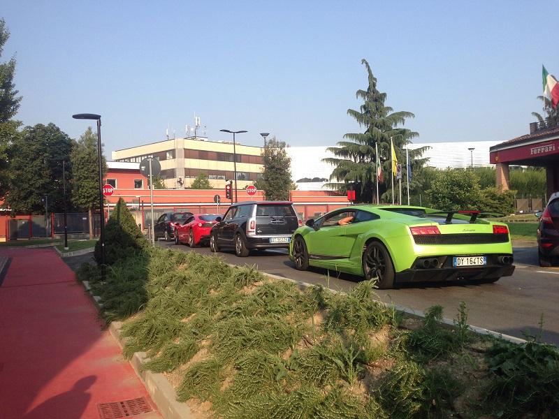 Maranello Ferrari and Lamborghini