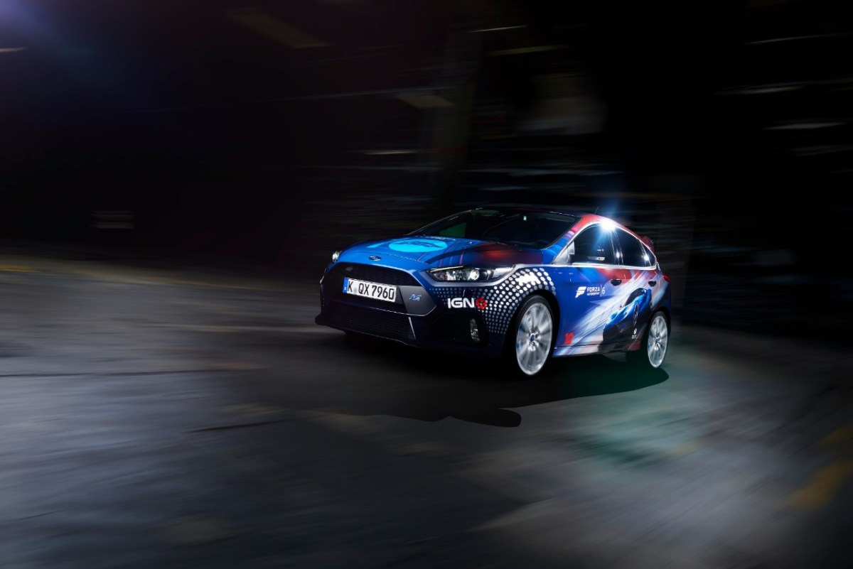 Focus RS and the Stig