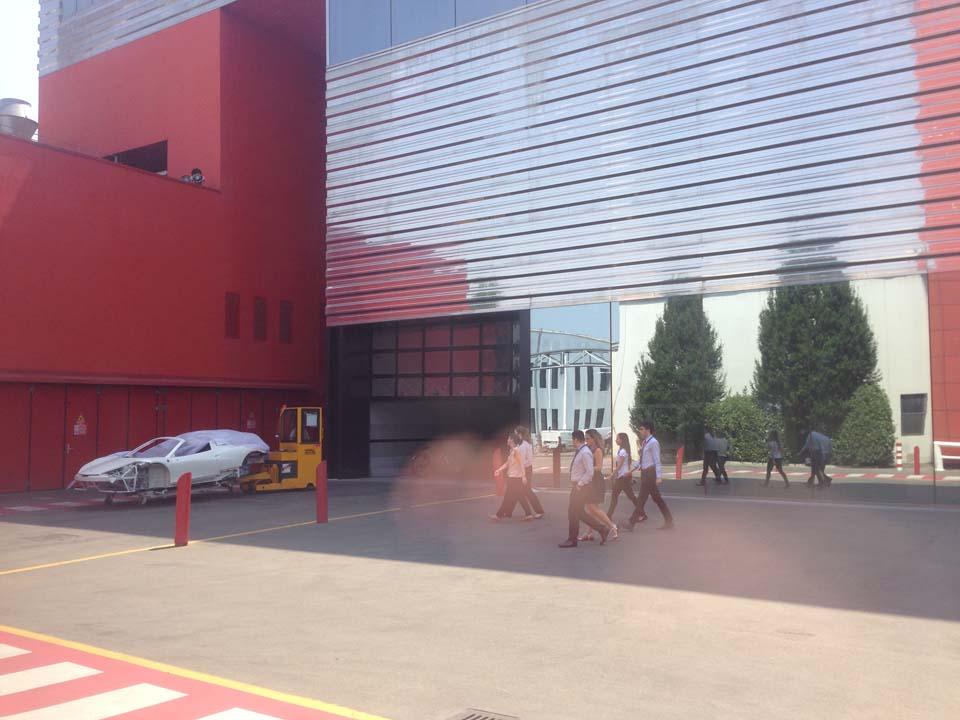 Ferrari Factory Tour Maranello