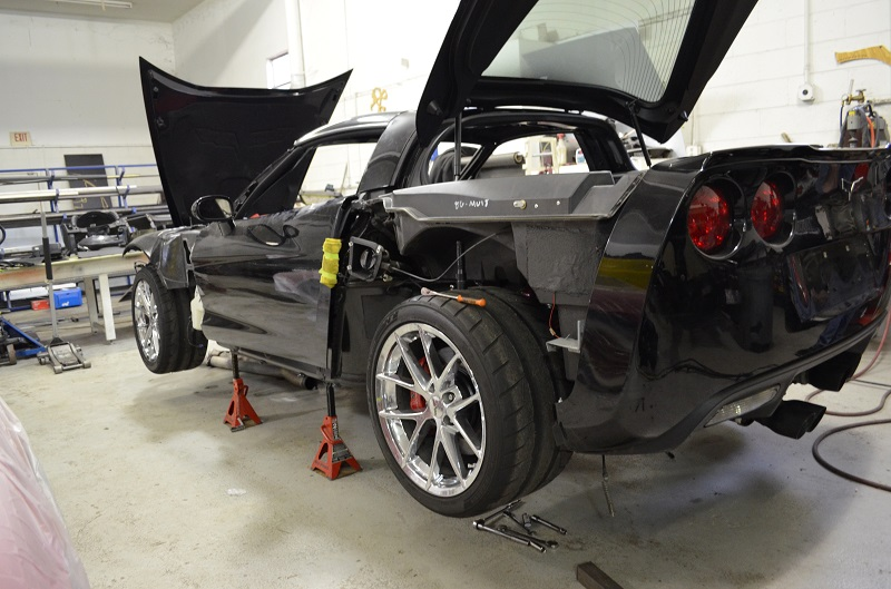 2009 Corvette ZO6 track build