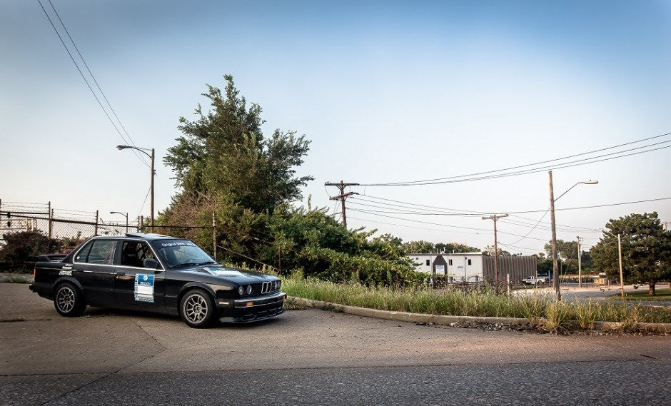 BMW E30 track car