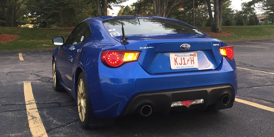BRZ LED rear turn signals