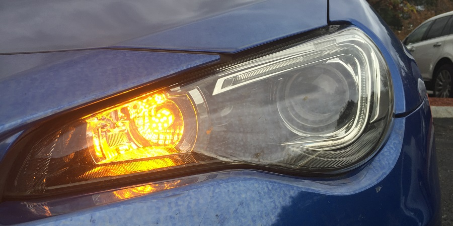 BRZ front LED turn signal