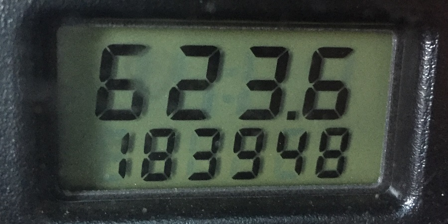 Focus odometer - that's a lot of miles