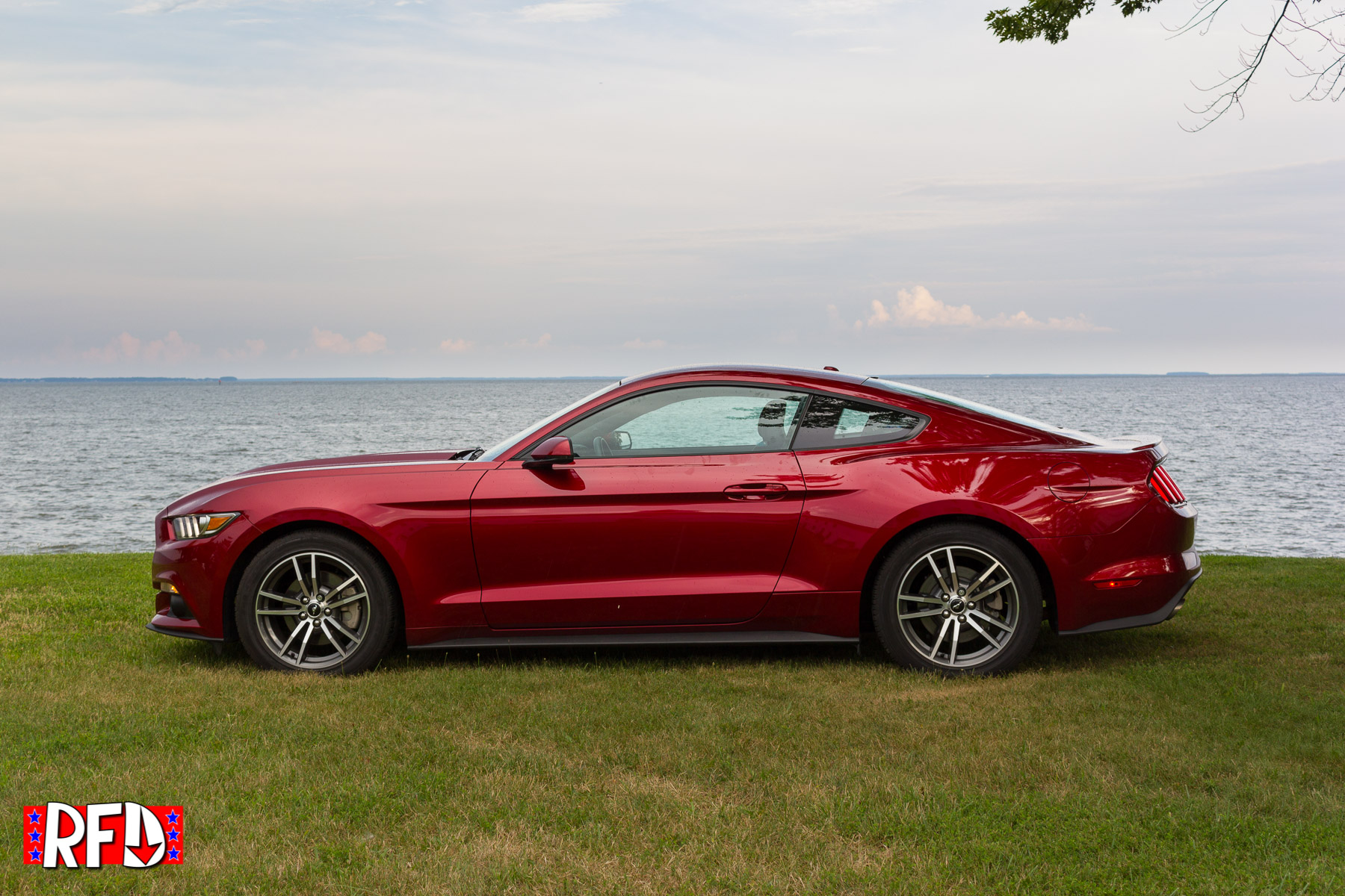 2016 ford mustang ecoboost red img 7342