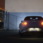 2016 Mazda Miata butt at night