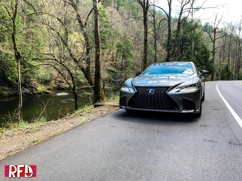 2019 Lexus LS500 F-Sport