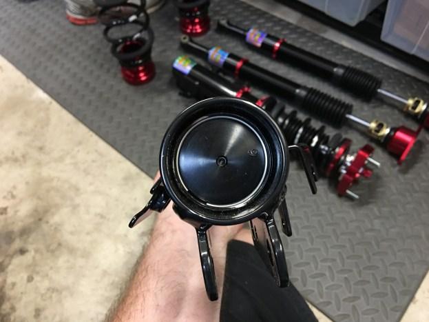 Meister Zeta CRD Shock Body Close Up