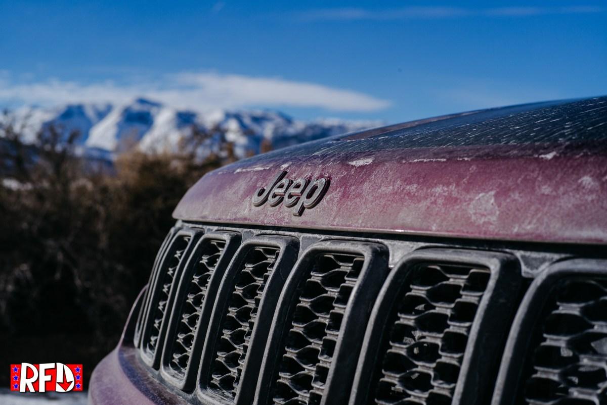 Jeep Grand Cherokee Trailhawk grill
