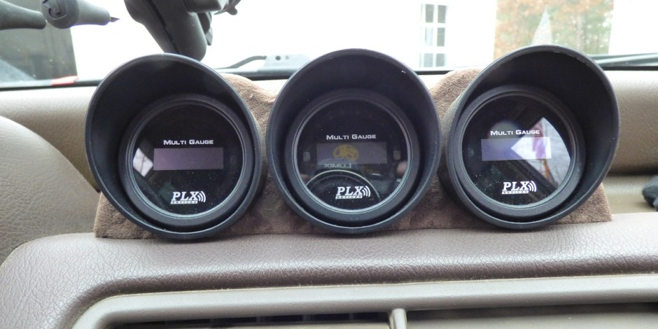 Civic wagon custom gauges