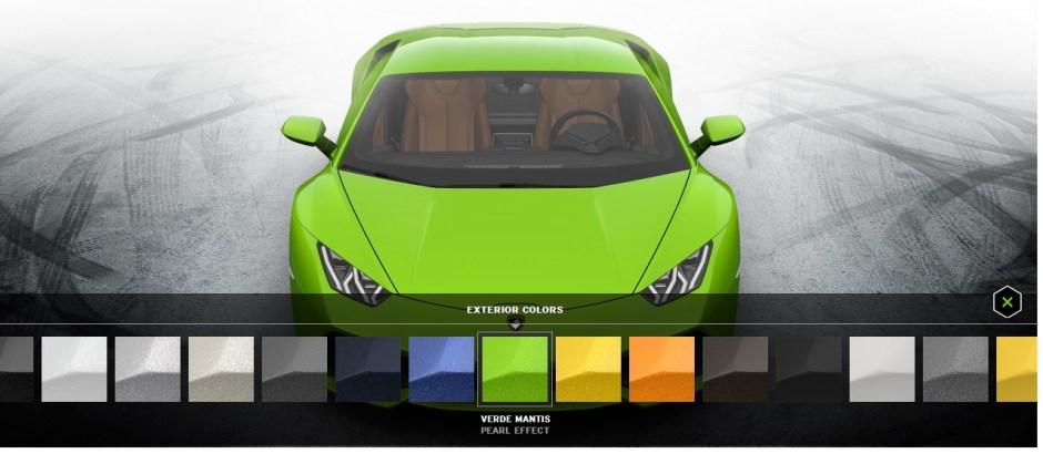 build your own Lamborghini Huracan