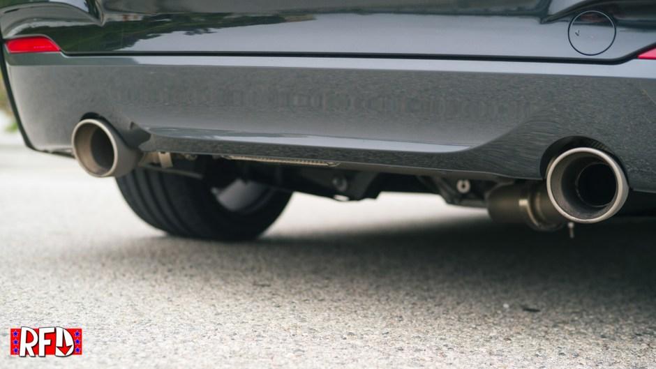 Magnaflow exhaust on BMW M235i