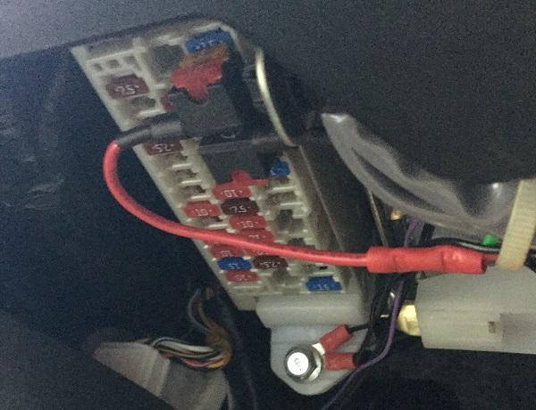 Heated seats wiring