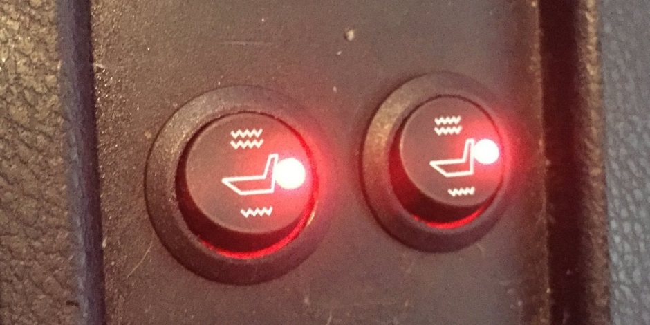 Operational heated seats