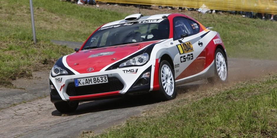 Rally Toyota GT86