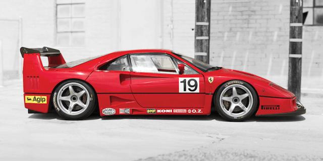 F40 race car