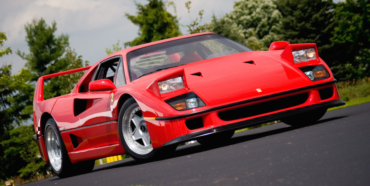 Eight Things You Didn T Know About The Ferrari F40 Right