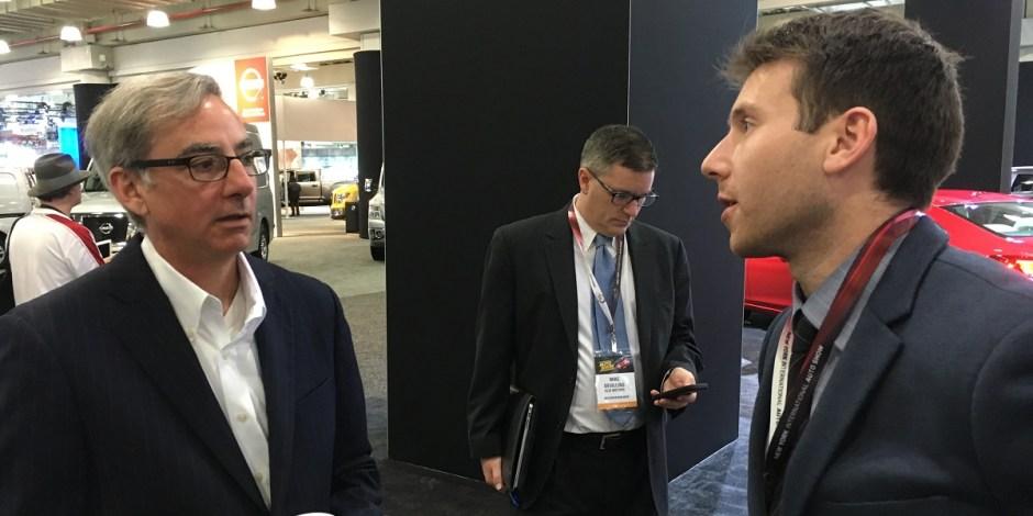 Paul Elio speaking with RFD's Michael Thompson