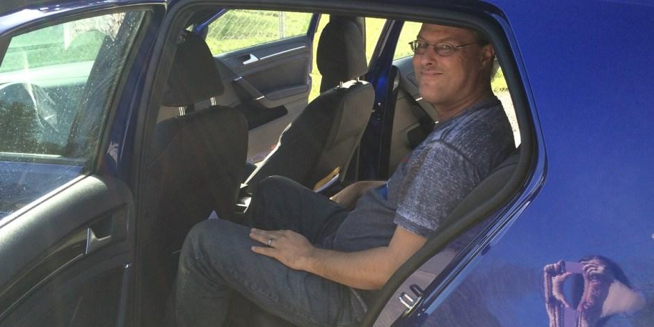 Golf R back seat