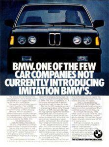 BMW E21 ad