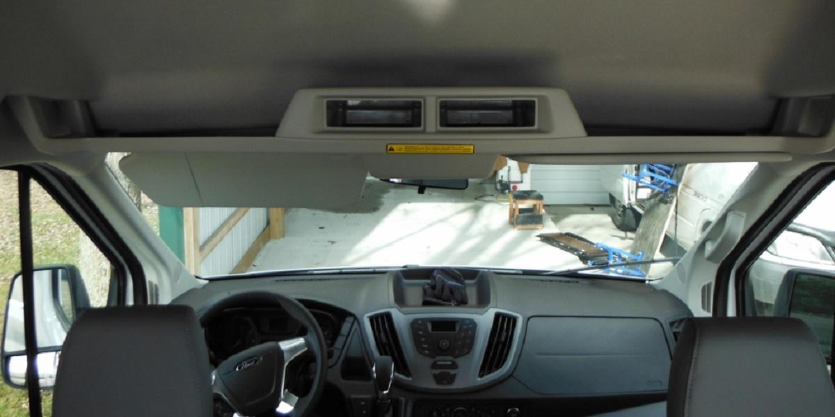 Ford Transit storage
