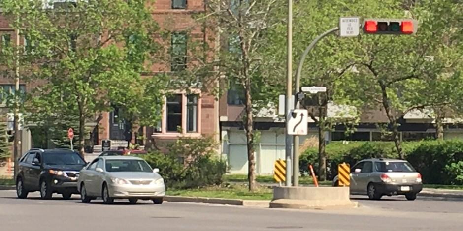 Montreal traffic light
