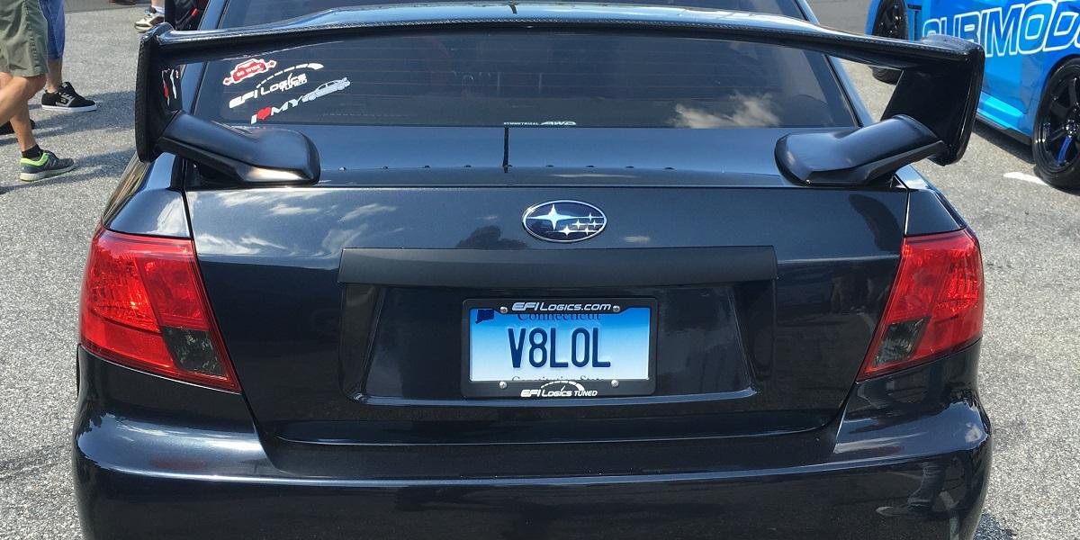 """WRX """"V8LOL"""""""