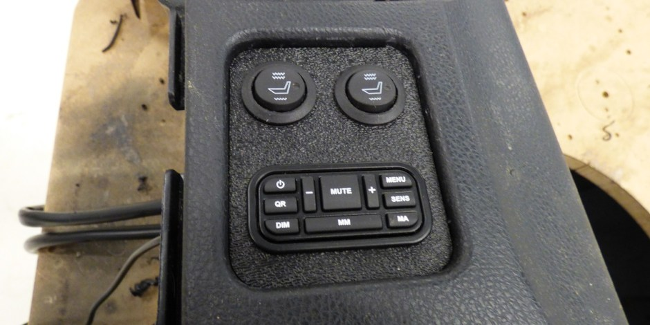 RL360i control panel