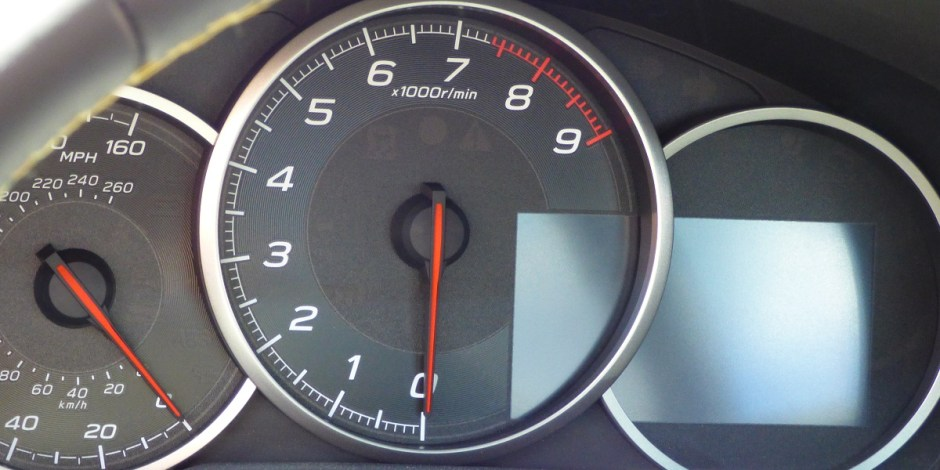 2017 Subaru BRZ instrument panel