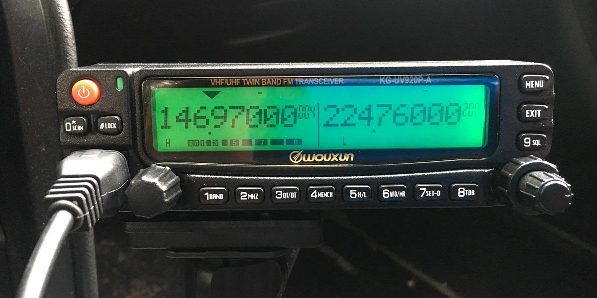 Justin's ham radio