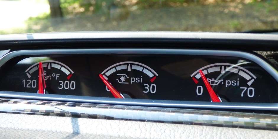 Ford Focus ST extra gauges