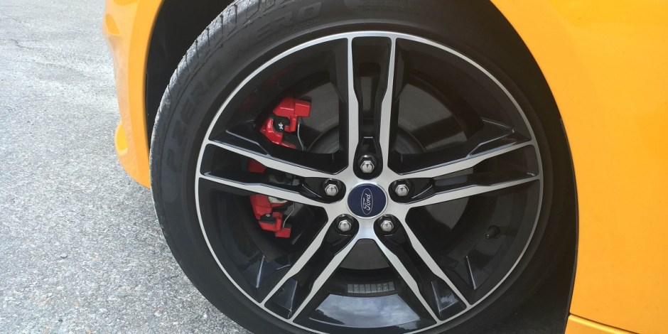 Ford Focus ST optional wheel
