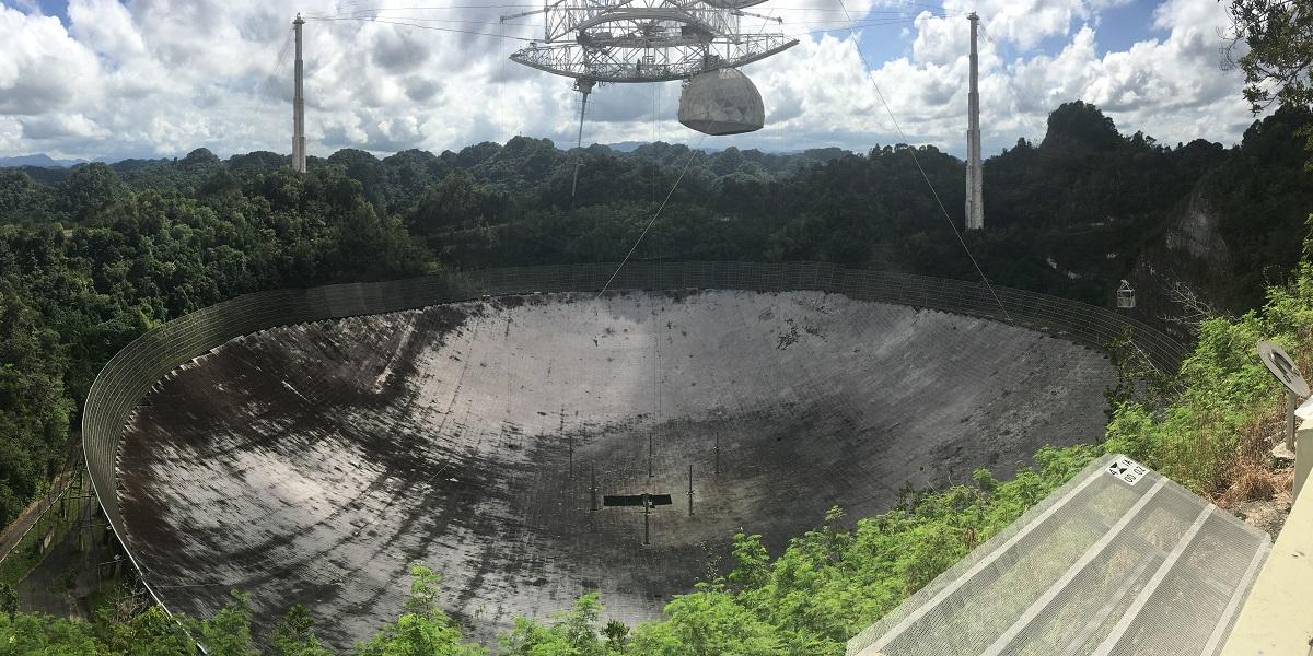 Arecibo radio telescope, Puerto Rico