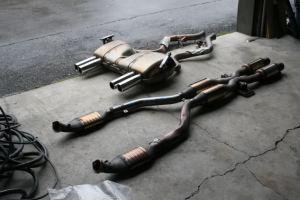 S65 Stock Exhaust