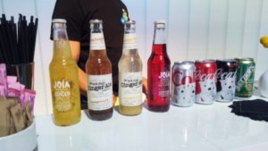 Loving the Bruce Cost Ginger Ale from Smart Car