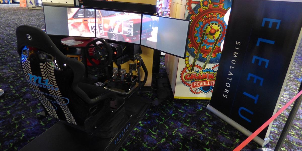 Eleetus racing simulator