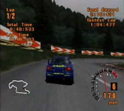 Subaru WRX in Gran Turismo