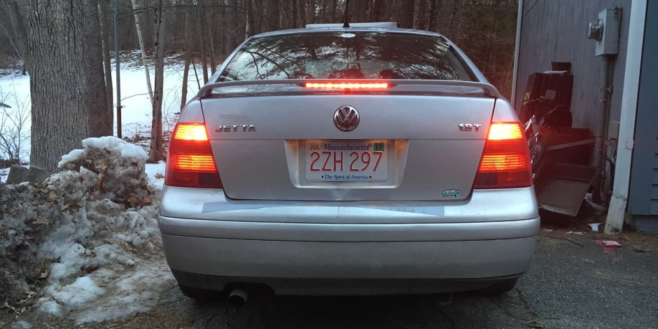 VW Jetta tail lights