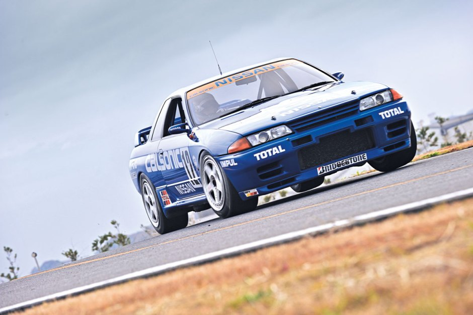 Calsonic R32 GTR race car