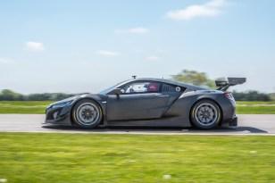 Acura NSX GT3 Race Car testing at Gingerman Raceway