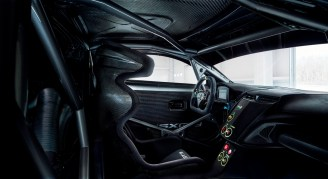 Acura NSX GT3 Race Car Prototype Interior